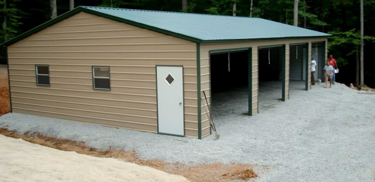 Metal Building Auto Garages