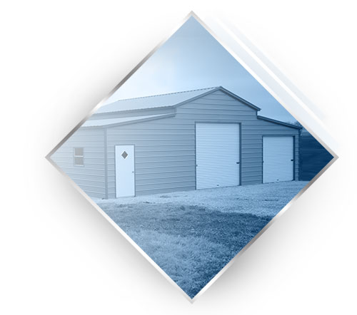 Metal barns by Steel Building Garages®
