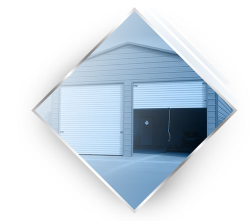 Two car garage by Steel Building Garages®