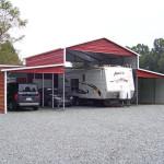 Ridgeline barns are incredibly durable steel buildings.