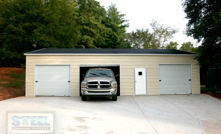 3 car garage steel building garages for 3 car garage metal building