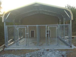 Unique pet home conversion of our carport model.