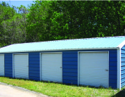 3 Car Garage Steel Building Garages