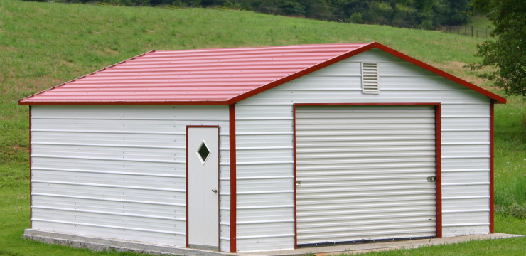 Steel & Metal Storage Buildings- Protective Storage Buildings by Steel Building Garages®