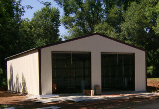 Consider Using Your Tax Refund For a Steel Building Garage