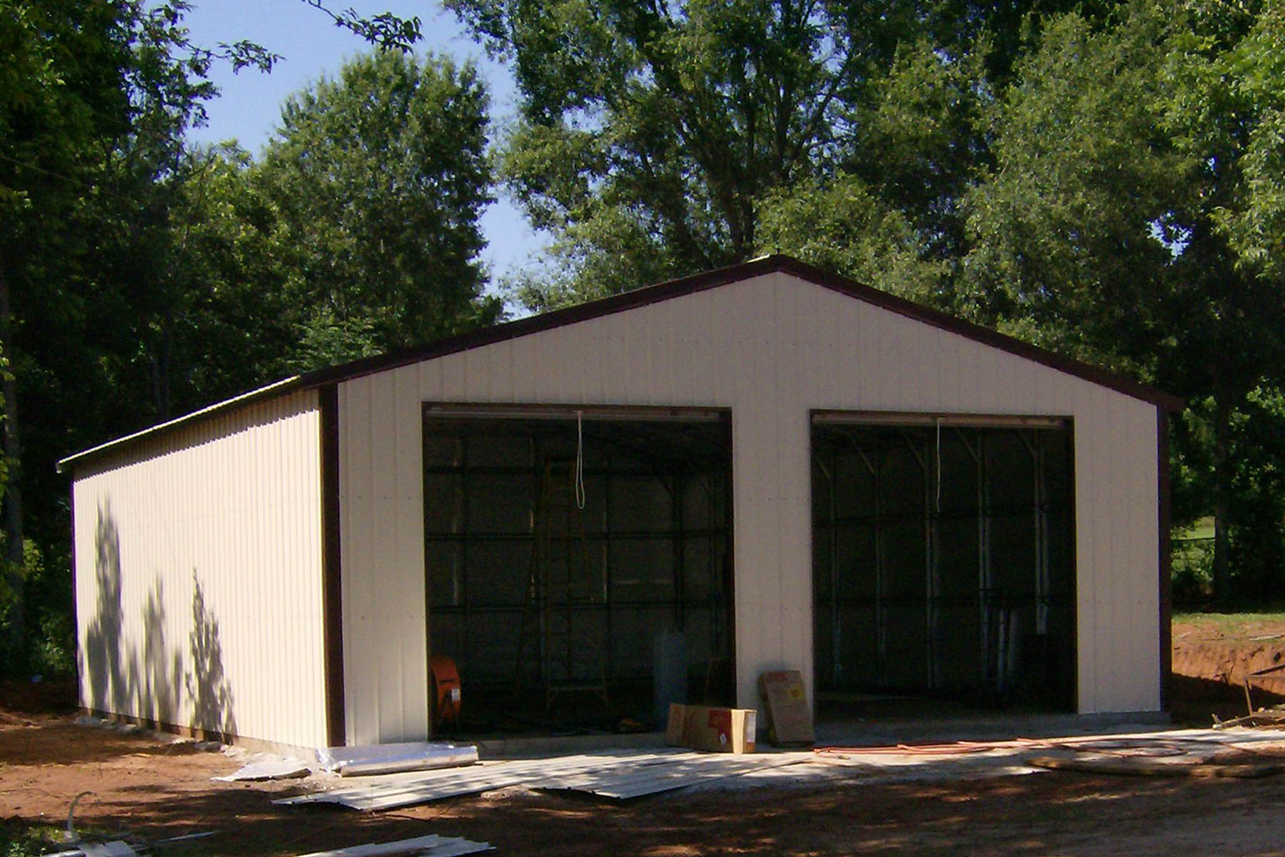 Steel building garages blog steel building garages for 3 car garage metal building