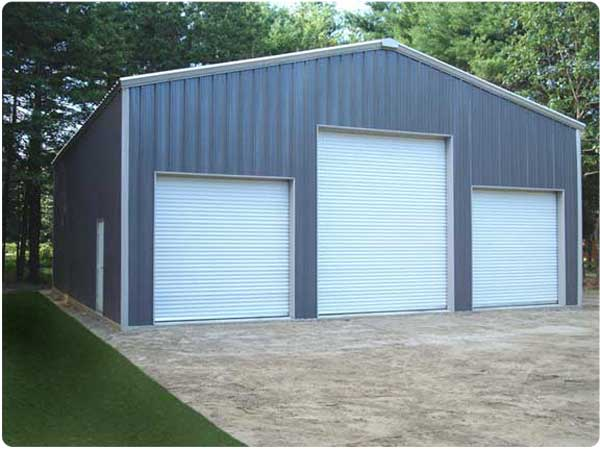 Residential steel buildings large steel buildings for Homes with big garages for sale