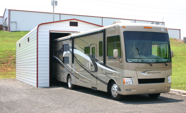 Rv Garage Door Height Steel Building Garages