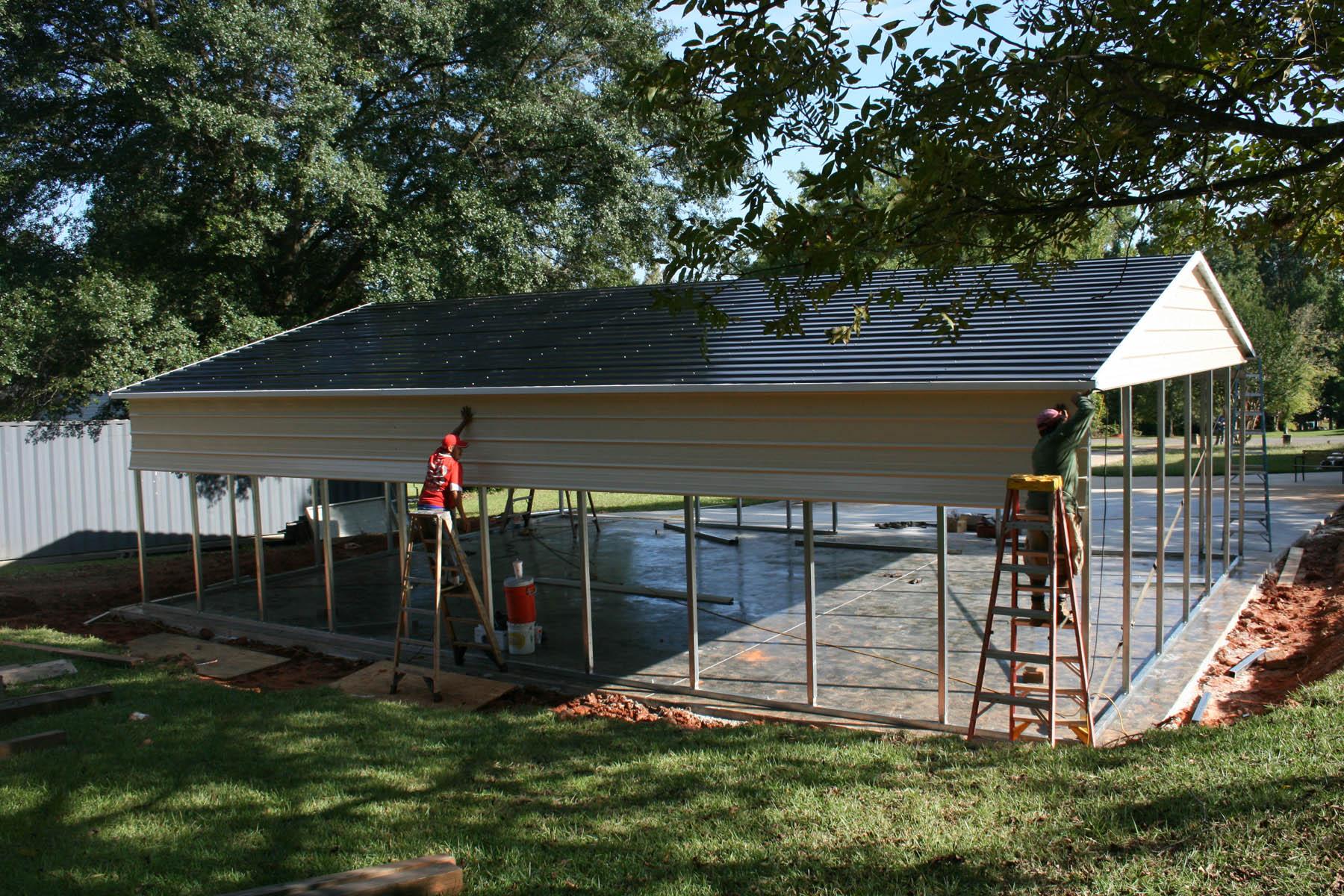 Steel building garages blog steel building garages for Garage building contractors