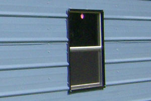 Horizontal sliding windows are available