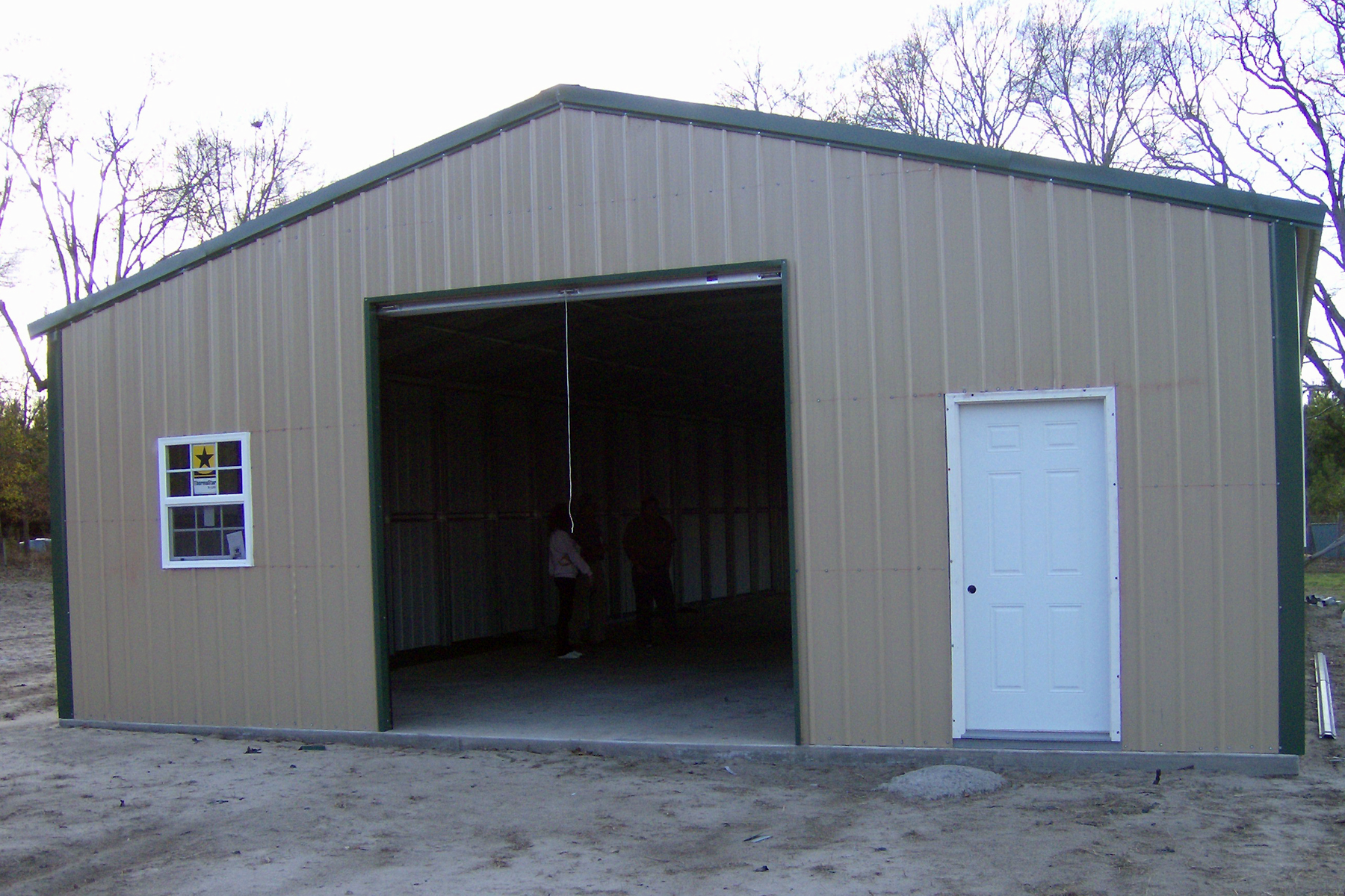 Steel garage kits prices for Garage builders prices