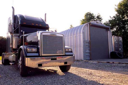 Garages For Trucks : Metal building products and styles steel garages