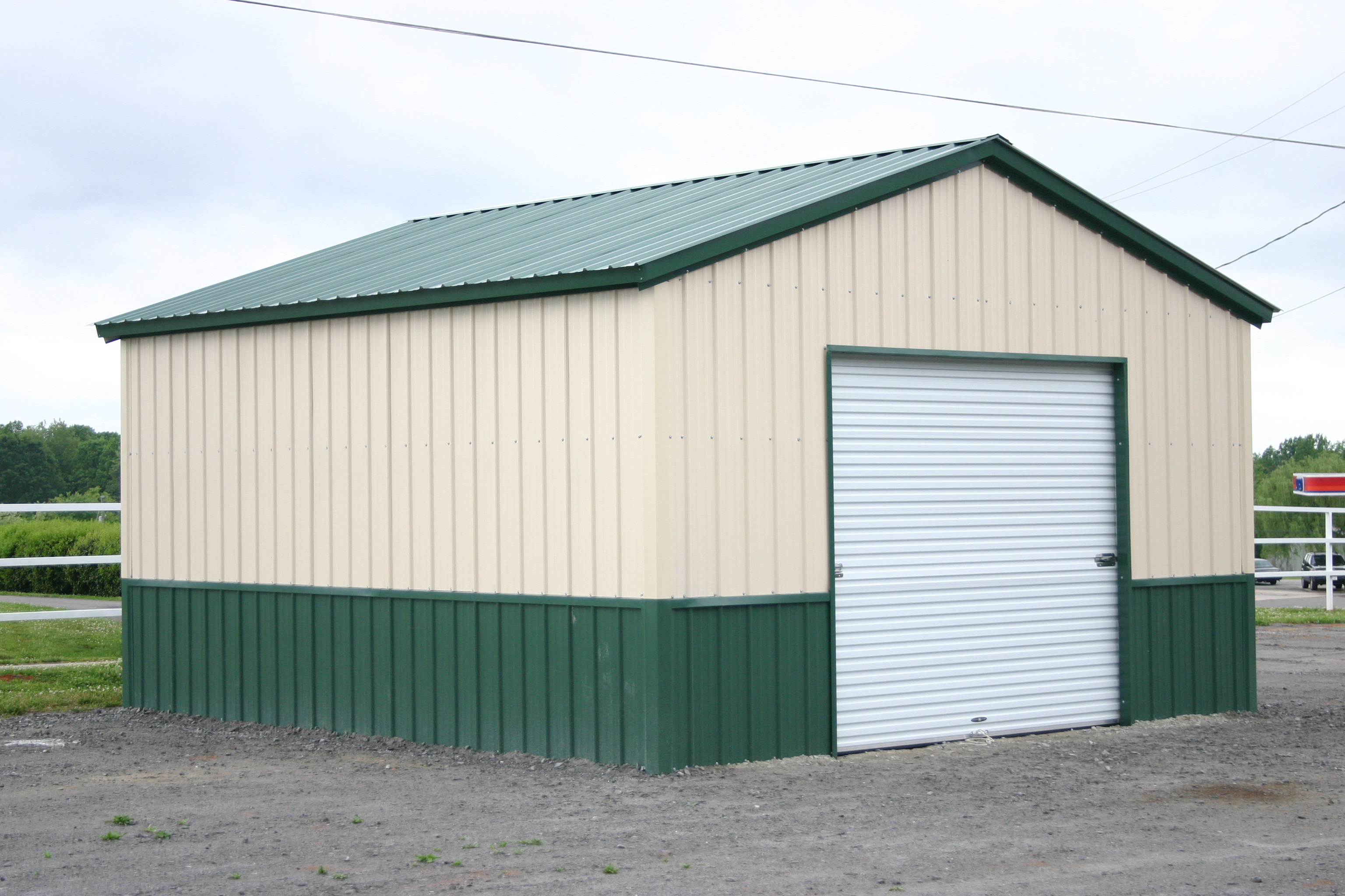 Steel building kits prices for Garage builders prices