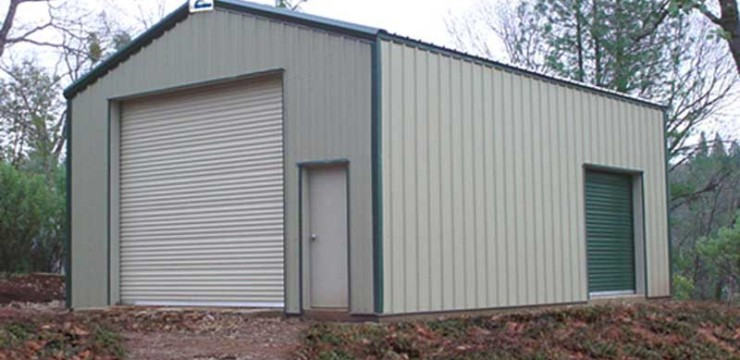 Conventional Straight Wall Building