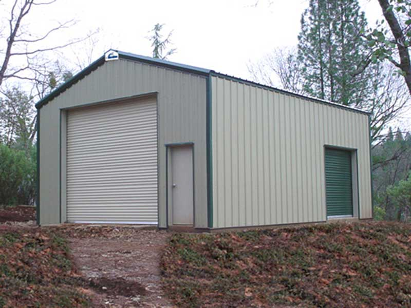 Upgrade your carport steel building garages Garage building prices