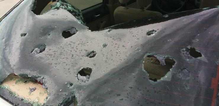 Damaging Hail Storms Destroy Property