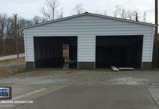 Custom Foundation Garage Installation Leaves Customer Happy