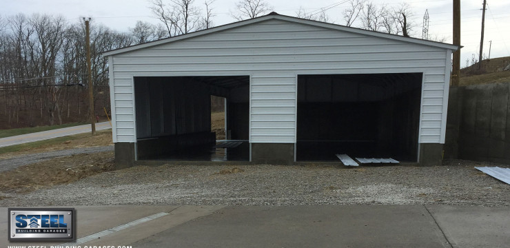 Custom Foundation Garage Installation Leaves Customer Happy